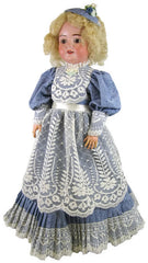 "22"" Fashion Doll Dress w/Lace"
