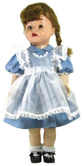"Classic Pinafore Outfit for 22"" Saucy Walker Dolls"