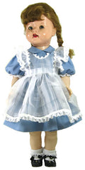 "22"" Pinafore Dress for Saucy Walker Doll"