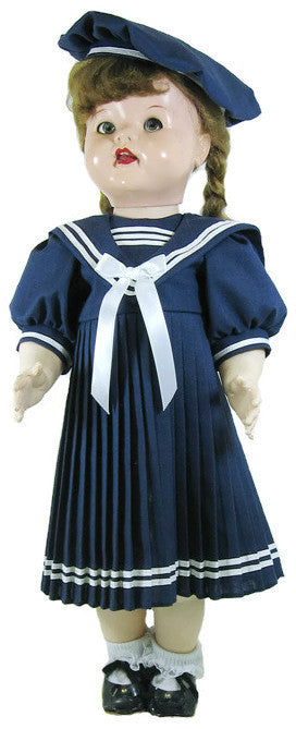 "Navy Sailor Outfit for 22"" Dolls"