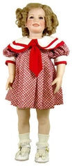 "24"" Shirley Temple ""Bright Eyes"" Doll Dress"