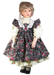 "28"" Country Charm Pinafore Doll Dress"