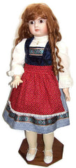 "32"" Scandinavian Styled Doll Dress"