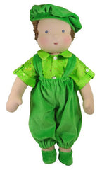 "14""/16"" Velour Outfit for Boy Waldorf Dolls"