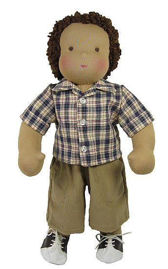 "14"" Baggy Shorts Waldorf Doll Outfit"