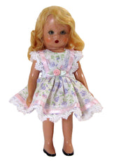 "5"" Tiny Floral Doll Dress"