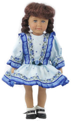 "6"" Dropped Waist Doll Dress"