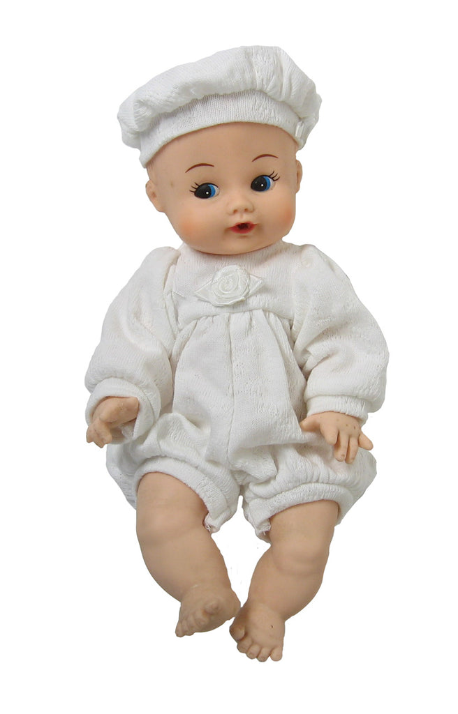 "8"" Knit Romper for Baby Dolls"