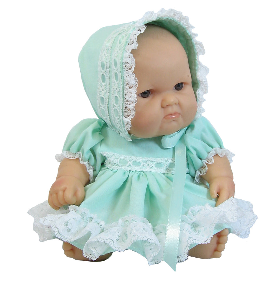"Mint Outfit for 10"" Berenguer Baby Dolls"