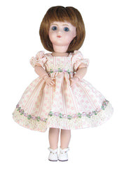 "9"" Cream Elegance Doll Dress for Loulotte"