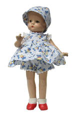 "9"" Vintage Play Doll Outfit"