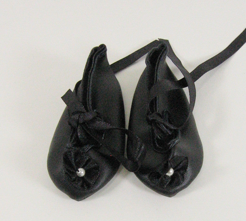 French Ribbon Doll Shoe