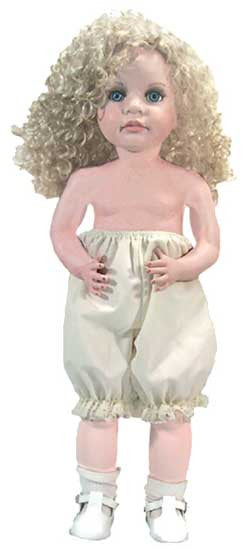Bloomers for Baby Dolls - White