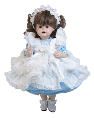 "10"" Pinafore Doll Dress"