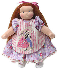 "14"" Waldorf Doll Dress w/Apron"