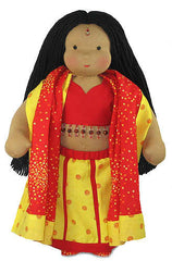 "14"" East India Priya Waldorf Doll Outfit"