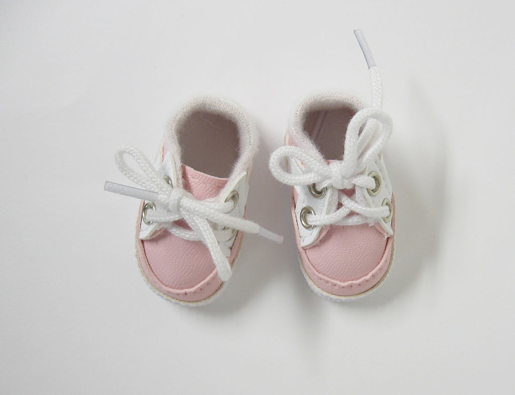 Pink Sporty Doll Shoes