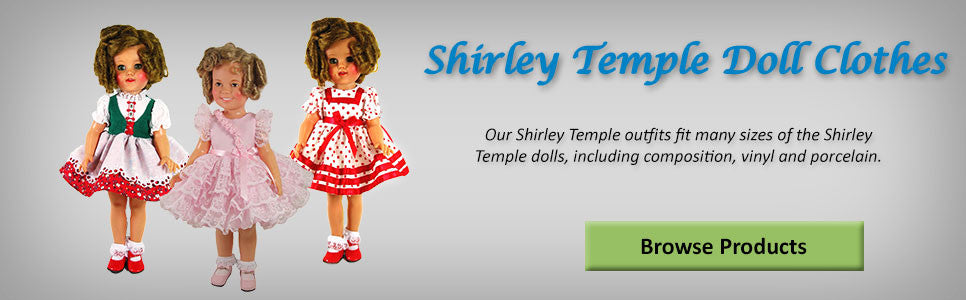 Shirley Temple Doll Clothes