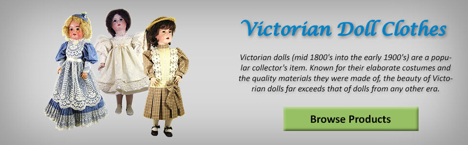 Victorian Doll Clothes