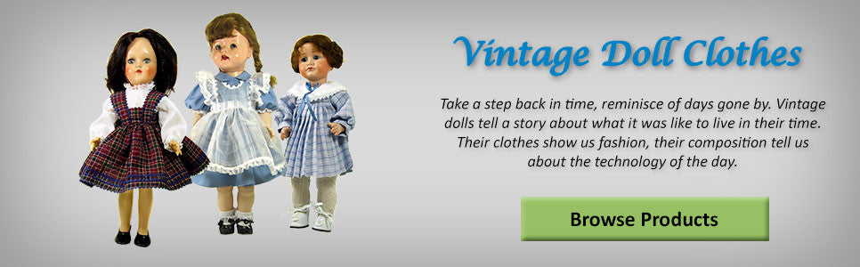 Vintage Doll Clothes