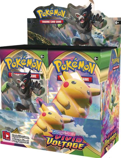 Vivid Voltage Master Case Booster Box (6 Booster Boxes) Sealed Master Case - PokeCharles PokeStore