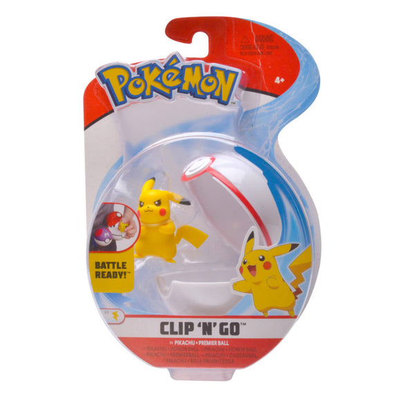 Pokemon Clip 'N Go Ball