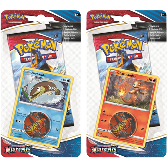 Pokemon Battle Styles Checklane Blister - PokeCharles PokeStore