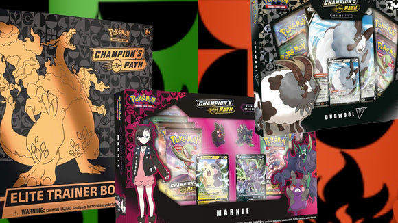 Pokemon Champions Path Combo Pack - PokeCharles PokeStore