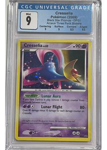 Cresselia DP51 - Arceus - Black Star Promo - Graded Pokemon Card