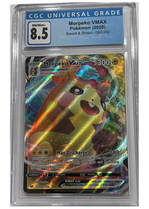 Morpeko VMAX 08/202 - Sword & Shield -  Graded Pokemon Card