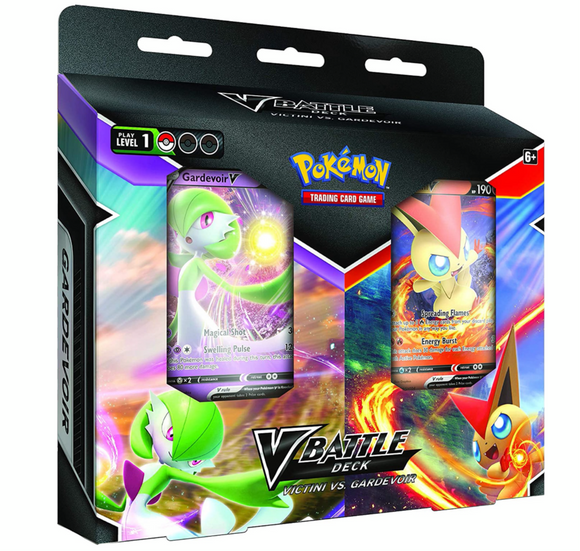 Victini  vs Gardevoir V Battle Deck