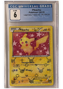 Pikachu R7/ RC25 -  Legendary Treasures - Graded Pokemon Card