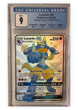 Lucario GX sv64/sv94 - Hidden Fates  - Graded Pokemon Card