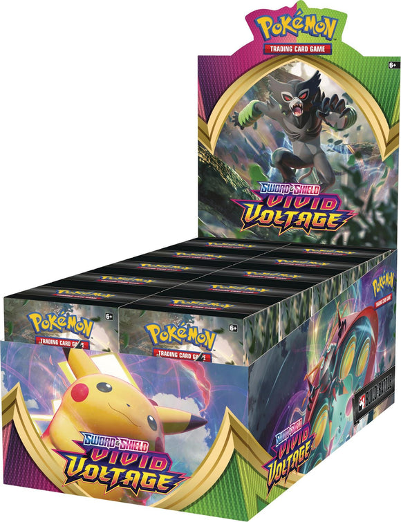 Vivid Voltage Build and Battle Box Case (10 units per case) - PokeCharles PokeStore