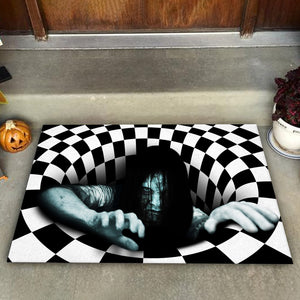 The Ring Illusion Doormat