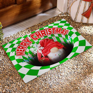 Gnome Illusion Doormat