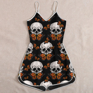 Skull Butterfly Rompers