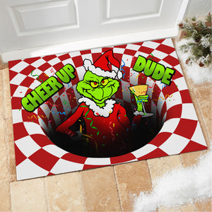 Grinch Cheer Up Dude - Doormat