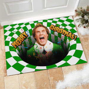 Will Ferrell Elf Doormat