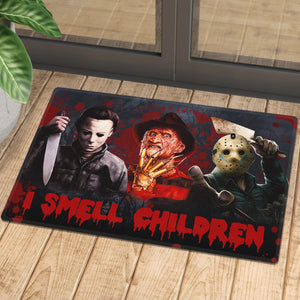 I Smell Children Horror Doormat