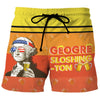 Geogre Sloshington - Custom Swim Trunks