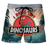 I Raise Tiny Dinosaur - Custom Swim Trunks