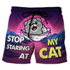 Pocket Scottish Fold - Custom Swim Trunks