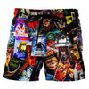 Horror Film - Custom Swim Trunks