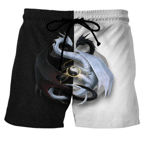 Dragon 3 - Custom Swim Trunks