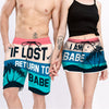 Couple Matching - Return To Babe - Shorts
