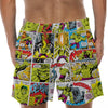 Hulk Comic - Custom Swim Trunks