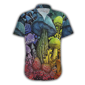 Mushroom Body Hawaii Shirt