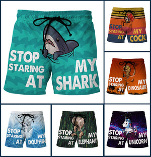 Pocket Short - Custom Swim Trunks