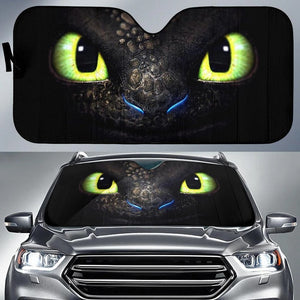 Dragon Eyes - Film Car Sun Shade